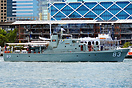 HMAS Advance in Darling Harbour during the 2013 International Fleet Re...