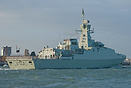 The recently handed over Omani Navy Corvette, RNOV Al Rahmani (Q41), i...