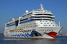 AIDAstella is a Sphinx-class cruise ship, built at Meyer Werft for AID...