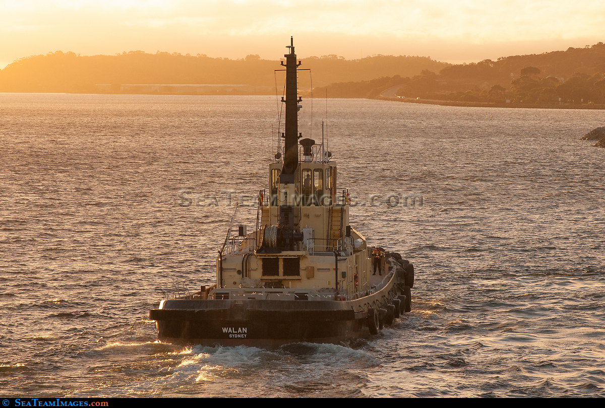 Tug Walan late afternoon