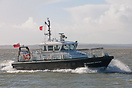 Admiralty Pilot Vessel, SD Solent Racer, approaching Portsmouth Harbou...