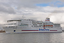 Pont-Aven outbound from Portsmouth on the 28th February 2014.