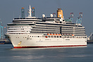 MS Arcadia was built in 2004 by Fincantieri at their shipyard in Margh...