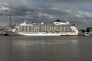 The World is a private residential cruiseship serving as a residential...