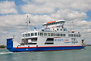 The Wightlink car ferry, Wight Sky, which normally operates on the Lym...
