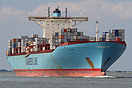 Elly Maersk is one of the eight E-class container ships owned by the A...