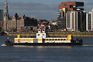After 58 years Antwerp has again a temporarly ferryservice. Due to the...
