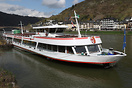 Built in 1986 and doing evening tours on the Moselle with live music a...