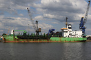 Trailing suction hopper dredger built in 1977 by IHC Smit - Kinderdijk...