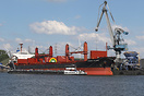 Bulk Carrier built in 2012 and currently sailing under the flag of Lib...