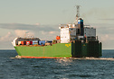 Searoad Tamar entering Bass Strait on her nightly crossing to Melbourn...